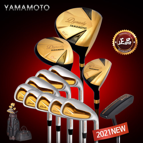 2021년형 야마모토  다이너스티 고반발 남성용 골드 풀세트 [스틸아이언/12pc] (무료배송) / 2021 YAMAMOTO DYNASTY GOLD FULLSET