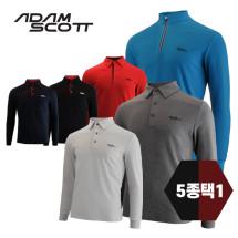 아담스콧 골프 겨울 티셔츠 5종택1